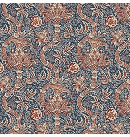 William Morris & Co. ON SALE-Morris & Co., Montagu Indian in Medici, Fabric Half-Yards PWWM017