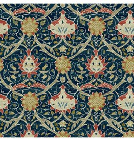 William Morris & Co. Morris & Co., Montagu Montreal in Medici, Fabric Half-Yards PWWM019