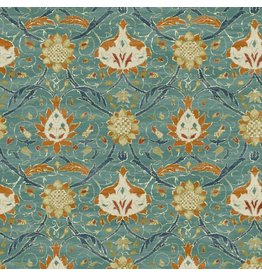 William Morris & Co. Morris & Co., Montagu Montreal in Forest, Fabric Half-Yards PWWM019