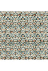 William Morris & Co. ON SALE-Morris & Co., Montagu Little Chintz in Forest, Fabric Half-Yards PWWM016