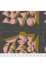 PD's Bookhou Collection Vestige, Shapes in Rose, Dinner Napkin