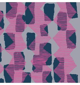 Bookhou ON SALE-Vestige, Tilli Rain in Magenta, Fabric Half-Yards PWBH004