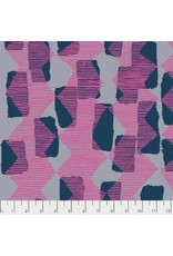 Bookhou ON SALE-Vestige, Tilli Rain in Magenta, Fabric Half-Yards PWBH004