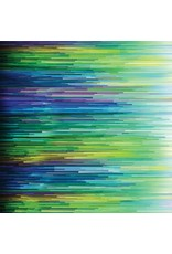 Moda Gradients, Lines in Blue Green, Fabric Half-Yards 33362 12D