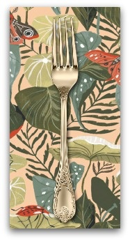 PD's Rae Ritchie Collection Natural History, Moth Bouquet in Multi, Dinner Napkin