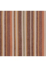 Robert Kaufman Yarn Dyed Cotton Flannel, Tamarack Stripes Flannel in Autumn, Fabric Half-Yards SRKF-18223-191