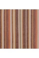 Robert Kaufman Yarn Dyed Cotton Flannel, Tamarack Stripes Flannel in Autumn, Fabric Half-Yards SRKF-18223-191