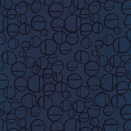 Anna Graham of Noodlehead Linen, Forage Essex, Roam in Midnight, Fabric Half-Yards AFH-17982-69