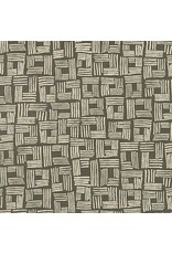 """Anna Graham of Noodlehead ON SALE-Linen, Forage Essex, Crate in Pepper, Fabric AFH-17983-188  ONE 31"""" CUT REMAINING"""