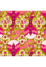 Alison Glass Road Trip, Treehouse in Celebrate, Fabric Half-Yards A-8899-E