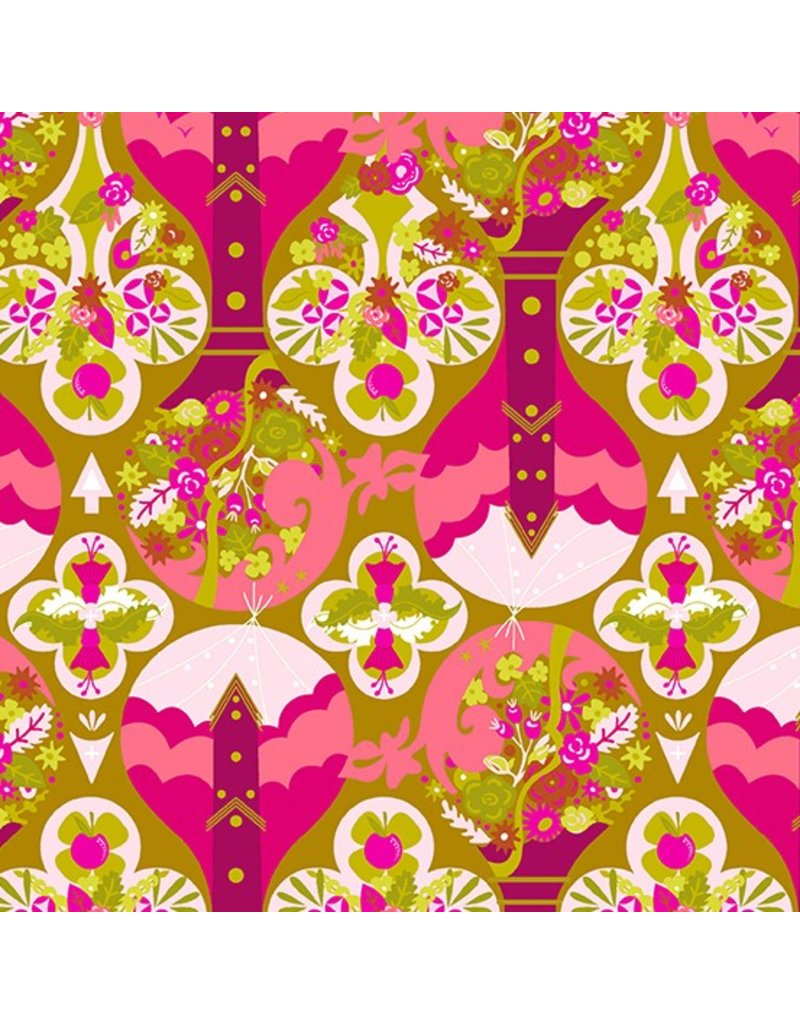 Alison Glass ON SALE-Road Trip, Treehouse in Celebrate, Fabric full-Yards A-8899-E