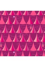 Alison Glass Road Trip, Overlook in Rose, Fabric Half-Yards A-8900-E