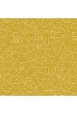 Alison Glass Road Trip, Twenty in Companion, Fabric Half-Yards A-8905-Y