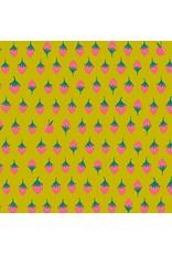 Alison Glass Road Trip, Apples in Tarte, Fabric Half-Yards A-8901-Y