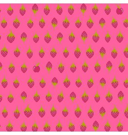 Alison Glass Road Trip, Apples in Sharp, Fabric Half-Yards A-8901-E