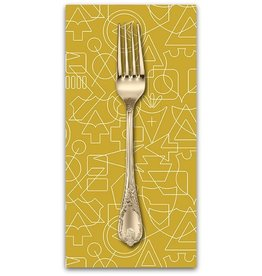 PD's Alison Glass Collection Road Trip, Twenty in Companion, Dinner Napkin