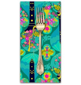 PD's Alison Glass Collection Road Trip, Treehouse in Jade, Dinner Napkin