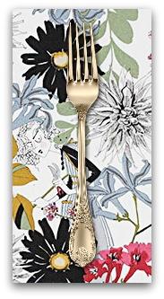 PD's Alexander Henry Collection A Ghastlie Snip in Natural, Dinner Napkin