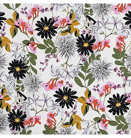 Alexander Henry Fabrics The Ghastlies, A Ghastlie Snip in Snapdragon, Fabric Half-Yards 8717B