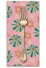 PD's Blend Fabrics Collection Aquarius, Reef in Pink, Dinner Napkin