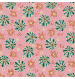 Elizabeth Grubaugh Aquarius, Reef in Pink, Fabric Half-Yards 126.105.02.1