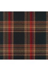 Robert Kaufman Yarn Dyed Cotton Flannel, Mammoth Flannel in Russet, Fabric Half-Yards SRKF-17606-180