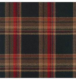 Robert Kaufman Yarn Dyed Cotton Flannel, Mammoth Flannel in Russet, Fabric Half-Yards SRKF-17606-180
