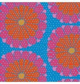 Kaffe Fassett Artisan, Kyoto in Red, Fabric Half-Yards PWKF008