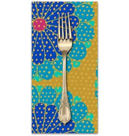 PD's Kaffe Fassett Collection Artisan, Kyoto in Blue, Dinner Napkin