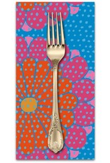 PD's Kaffe Fassett Collection Artisan, Kyoto in Red, Dinner Napkin