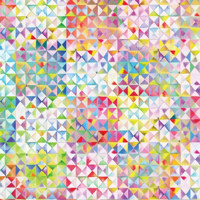 Moda Gradients, Triangles in Multi, Fabric Half-Yards 33369 11D