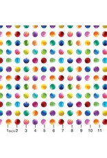 PD's Moda Collection Gradients, Circles in Multi, Dinner Napkin