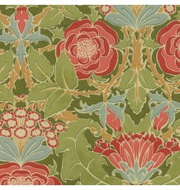 Voysey Voysey, The Xipon 1899 in Olive, Fabric Half-Yards 7320 19
