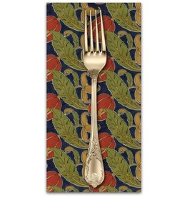 PD's Voysey Collection Voysey, The Gordon 1897 in Indigo, Dinner Napkin