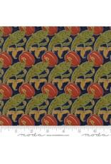 PD's Voysey Collection Voysey, The Gordon 1897 in Indigo, Dinner Napkin
