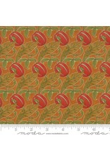 PD's Voysey Collection Voysey, The Gordon 1897 in Amber, Dinner Napkin