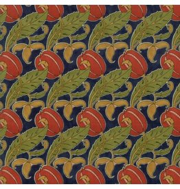 Voysey Voysey, The Gordon 1897 in Indigo, Fabric Half-Yards 7324 13