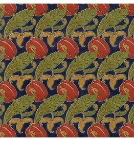 Voysey Voysey, The Gordon 1897 in Indigo, Fabric Half-Yards 7324 13