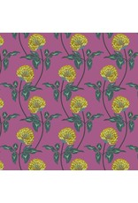 Anna Maria Horner English Summer, Leaning in Violet, Fabric Half-Yards PWAM004
