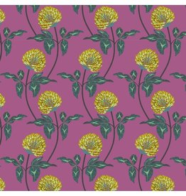 Anna Maria Horner ON SALE-English Summer, Leaning in Violet, Fabric full-Yards PWAM004
