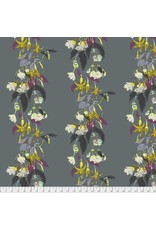 Anna Maria Horner English Summer, Name Drop in Pewter, Fabric Half-Yards PWAM003