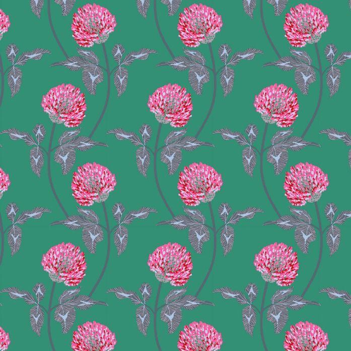 Anna Maria Horner English Summer, Leaning in Jade, Fabric Half-Yards PWAM004