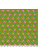 Anna Maria Horner English Summer, Leaning in Army, Fabric Half-Yards PWAM004