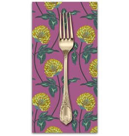PD's Anna Maria Horner Collection English Summer, Leaning in Violet, Dinner Napkin