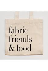 "Soak ""fabric, friends & food"" Tote Bag from Handmade Getaway"
