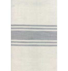 """Urban Chiks Woven Toweling, 16"""" wide, Urban Cottage Ivory with Grey Stripe"""
