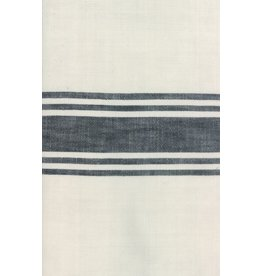 """Moda Woven Toweling, 16"""" wide, Urban Cottage Ivory with Black"""