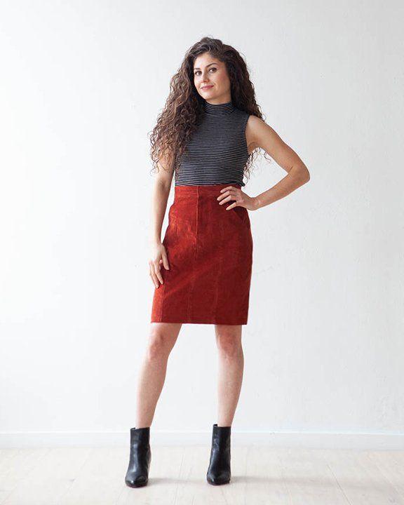 True x Bias True x Bias Salida Skirt -  Pattern