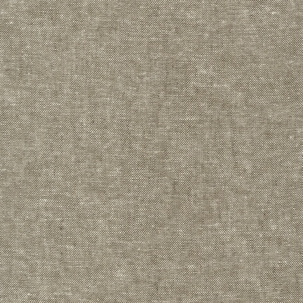 Robert Kaufman Linen, Essex Yarn Dyed in Olive, Fabric Half-Yards E064-1263