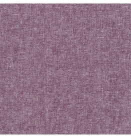 Robert Kaufman Linen, Essex Yarn Dyed in Eggplant, Fabric Half-Yards E064-1133